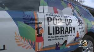Camden County Pop Up Library Receives New Subaru For Library On Wheels