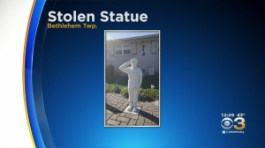 Police Searching For Stolen Statue In Bethlehem Township