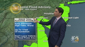 New Jersey Weather: Storm Could Cause Minor Flooding Along Jersey Shore