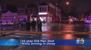 Police: Man Shot While Driving In Olney