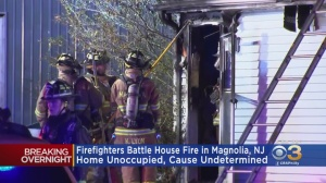 Firefighters Battle Overnight House Fire In Magnolia
