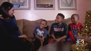 Brotherly Love: Family Previously Helped By Salvation Army Giving Back To Joy Of Sharing Toy Fest