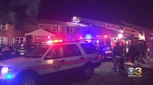 Flames Rip Through Maple Shade Township Apartment Complex