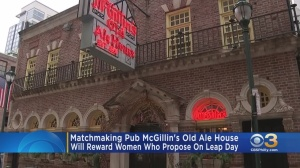 Philadelphia's McGillin's Olde Ale House Offering Reward To Women Who Propose On Leap Day