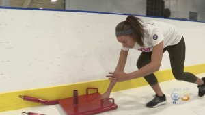QVC Host Courtney Webb Training For Chance At 2022 Winter Olympics In Sport Of Skeleton