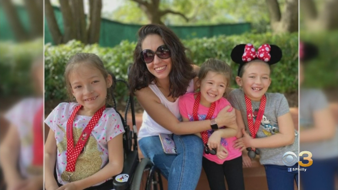 Delaware County Family Says American Airlines Employees Badly Damaged Young Daughter's Specialized Wheelchair On Flight To Disney World