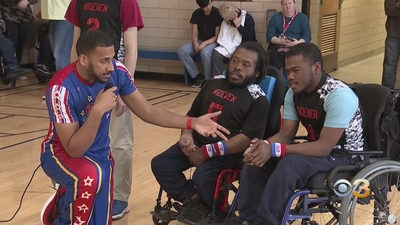Harlem Globetrotters Promote Inclusion, Bullying Prevention In Visit To North Philadelphia School