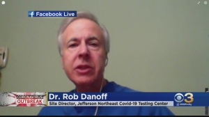 Coronavirus Latest: Dr. Rob Danoff Talks About New COVID-19 Symptoms That May Include Loss Of Smell, Loss Of Taste