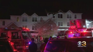 3 Townhomes Damaged Following Two-Alarm Fire In Newark