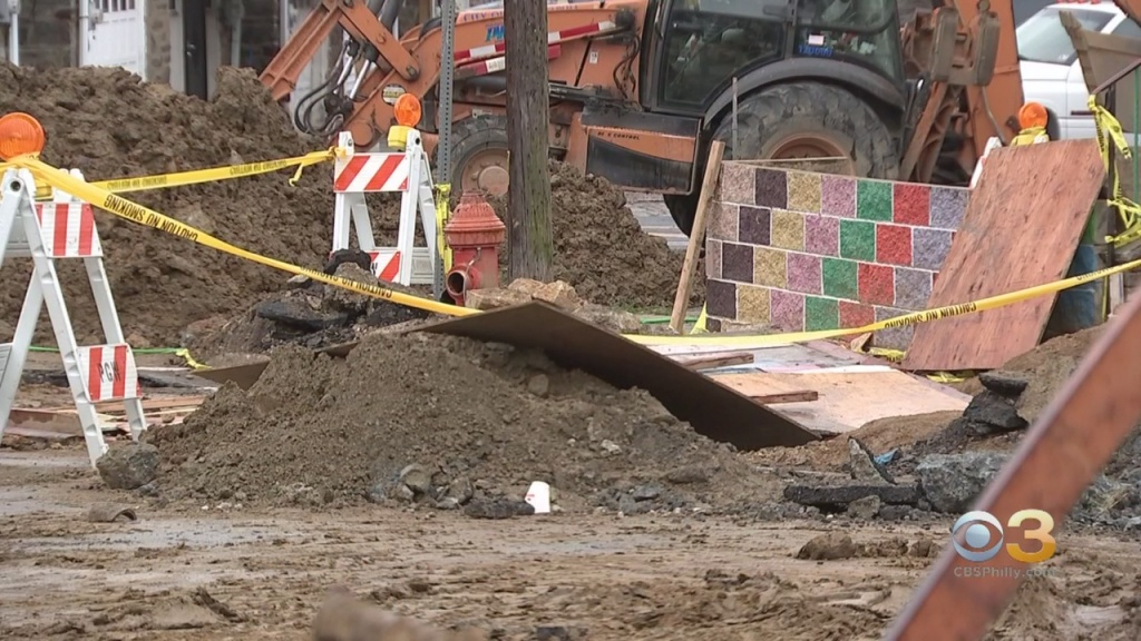 Crews Working To Restore Water To Southwest Philadelphia Residents After Plumber Ruptures Line, Officials Say
