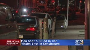 Man Shot In Head, Killed While Sitting In Parked Car In Kensington