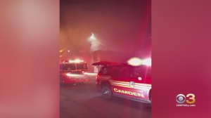 Fire Damages Business In Camden