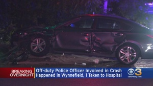 At Least 1 Injured After Crash Involving Off-Duty Police Officer In Wynnefield