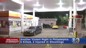 5 Killed, 2 Injured In Another Violent Night In Philadelphia