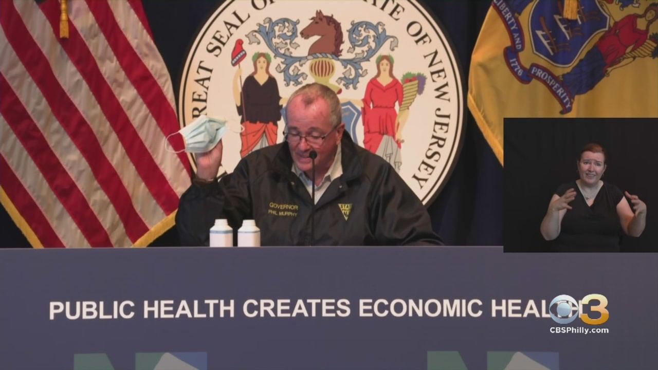 WATCH LIVE: New Jersey Gov. Phil Murphy To Hold COVID-19 Briefing
