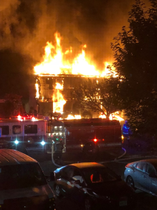 At Least 1 Injured After Flames Erupt At Maple Shade Condo Complex
