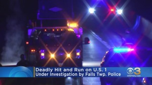 Pedestrian Struck, Killed In Hit-And-Run On Route 1 In Bucks County