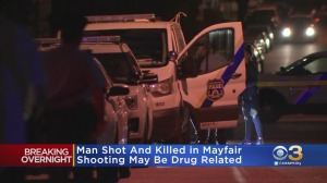 Police: Man Shot, Killed In Mayfair, Possibly Drug-Related
