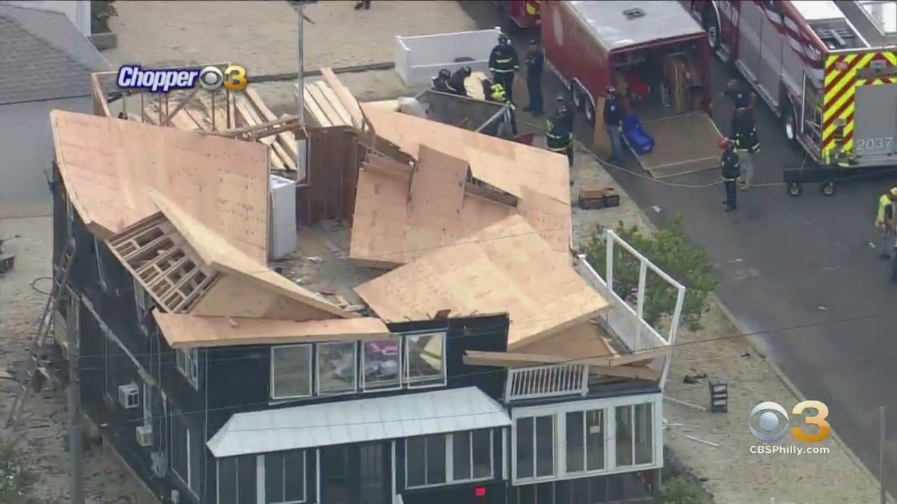 Roof Partially Collapses In Long Beach Township