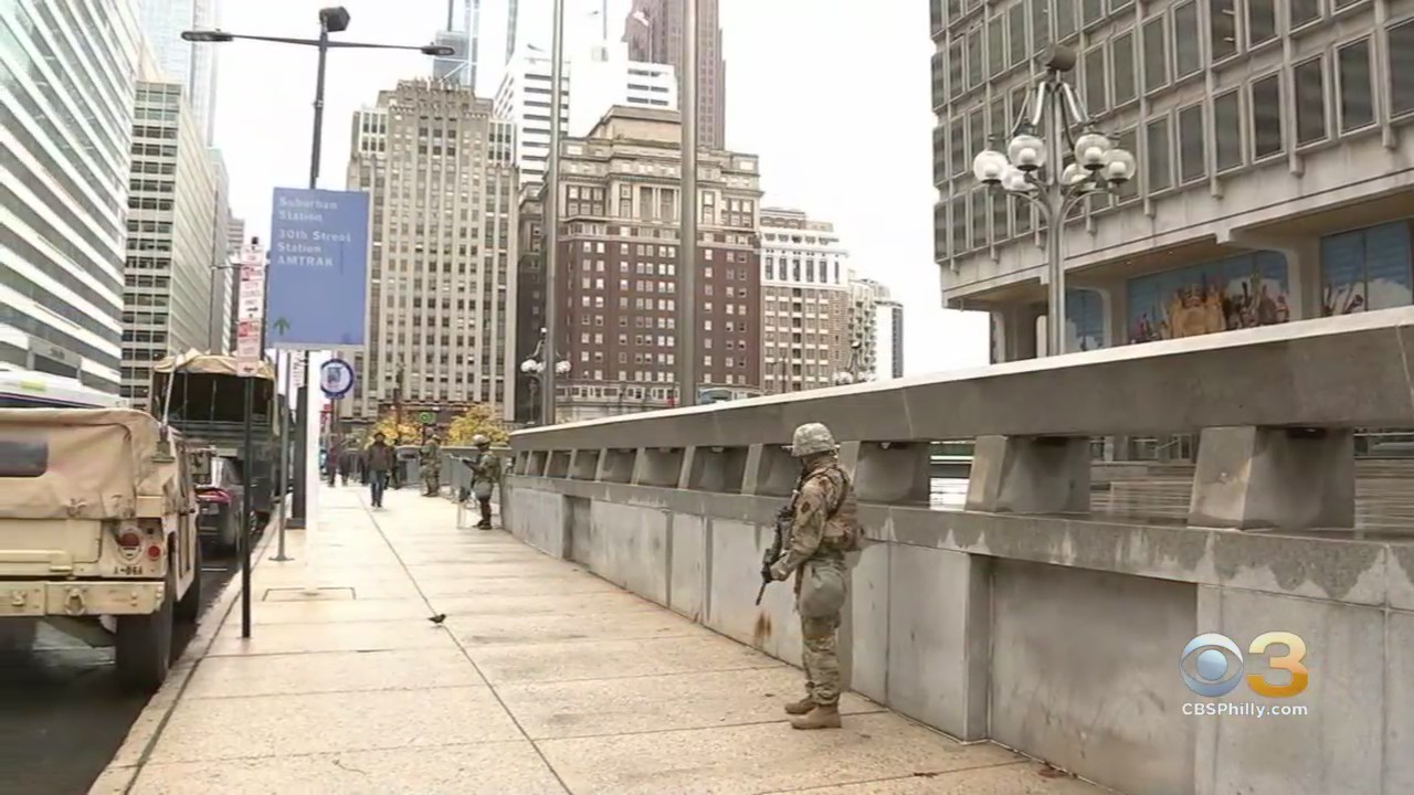 National Guard Arrives In Philadelphia Following Several Days Of Unrest In City Cbs Philly