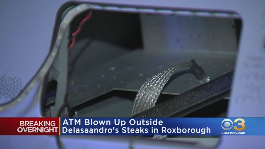 ATMs Blown Up Outside Dalessandro's Steaks In Roxborough, Germantown East Train Station In Chestnut Hill