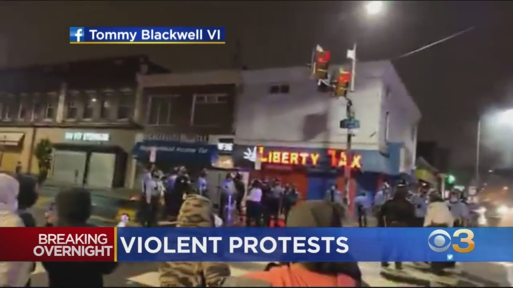 30 Police Officers Injured During Hours-Long Unrest In Philadelphia After Fatal Police-Involved Shooting