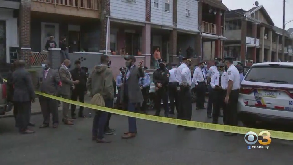Protesters Gather Outside Police Precinct Hours After Officers Fatally Shoot Man Armed With Knife In West Philadelphia