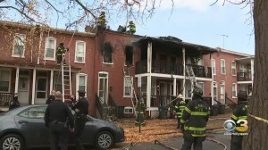 Woman Found Dead Following Rowhome Fire In Wilmington