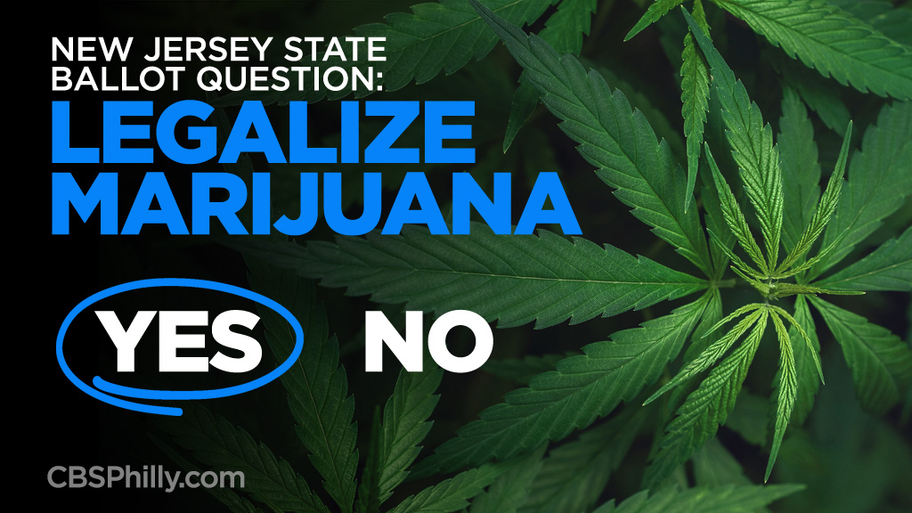 New Jersey Residents Vote To Legalize Recreational Marijuana – CBS Philly