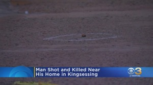 Police: Man Shot, Killed Near His Home in Kingsessing