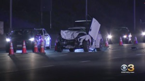 1 Person Ejected From Vehicle, Killed In Multi-Vehicle Crash On I-95 In Delaware
