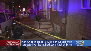 Police: Marijuana, Backpack With Cash Found At Scene Of Deadly Shooting In Kensington