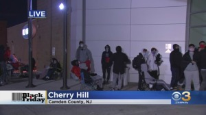 Black Friday Shoppers Lining Up For PlayStation 5, Gaming Bundles In Cherry Hill