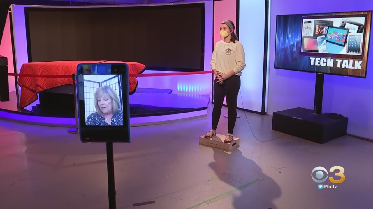 PHILADELPHIA (CBS) — Philadelphia is taking virtual learning to the next level. What may seem like a scene out of a movie is real life for some area