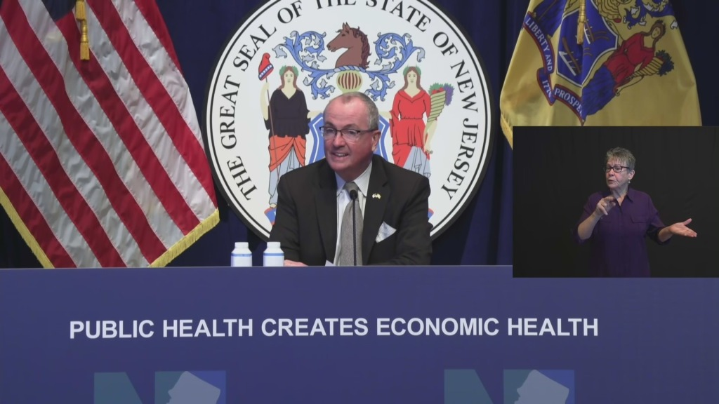 New Jersey Gov. Phil Murphy Blames Federal Government For Slow Rollout Of COVID-19 Vaccine Supply