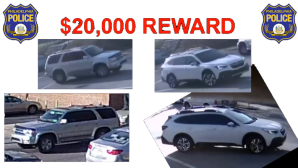 Philadelphia Police Looking To Identify 2 Vehicles In Connection to Deadly Shooting In West Oak Lane