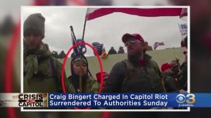 Lehigh County Man, Craig M. Bingert, Arrested By FBI For Role In US Capitol Riot
