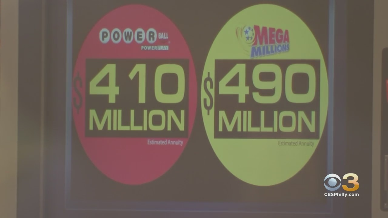 Winning 1m Mega Millions Ticket Sold In New Jersey As Jackpot Grows To 490 Million Cbs Philly
