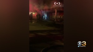 Fire Damages Home In North Philadelphia