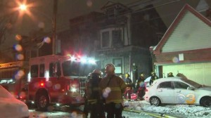 2 People Rescued Following 2-Alarm House Fire In Frankford