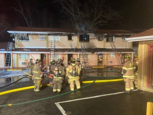 Flames Badly Damage Parkway Inn In Delaware County