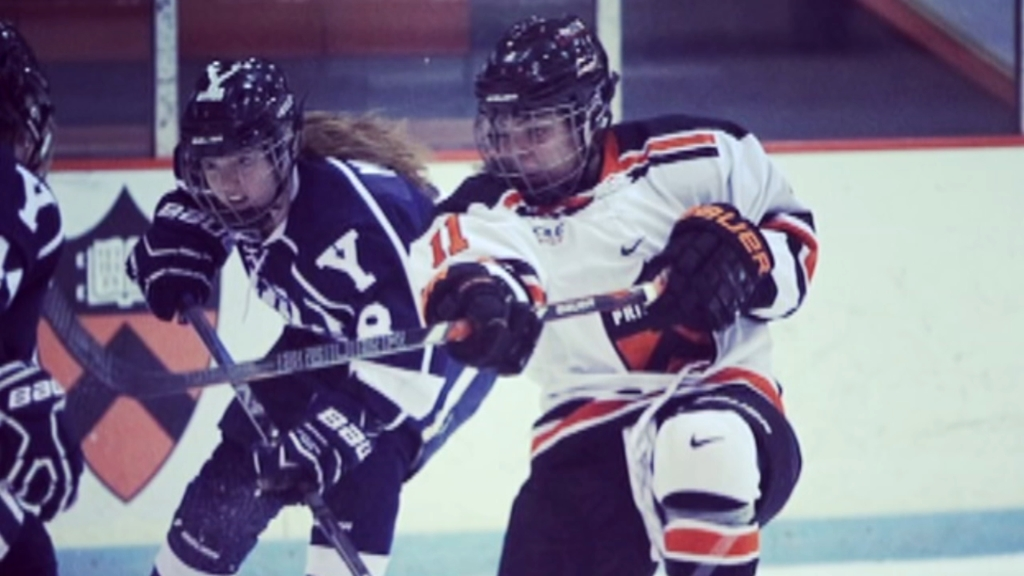 'She's The Inspiration': Kelsey Koelzer Breaking Racial Barriers In NCAA Hockey At Arcadia University
