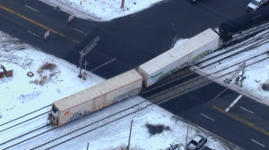 Portion Of Centerville Road Closed After Train Derails In Wilmington