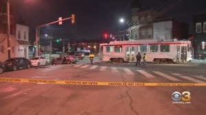 Philadelphia Police: Driver Critically Injured After Running Red Light, Crashing Into Trolley In Belmont