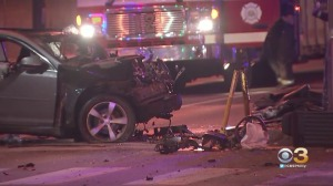 Driver Critically Injured Following One-Vehicle Crash In North Philadelphia