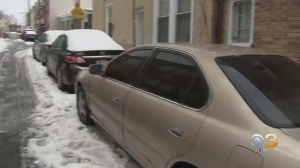 Snow Cleanup Underway In Manayunk As Neighbors Worry About Refreezing