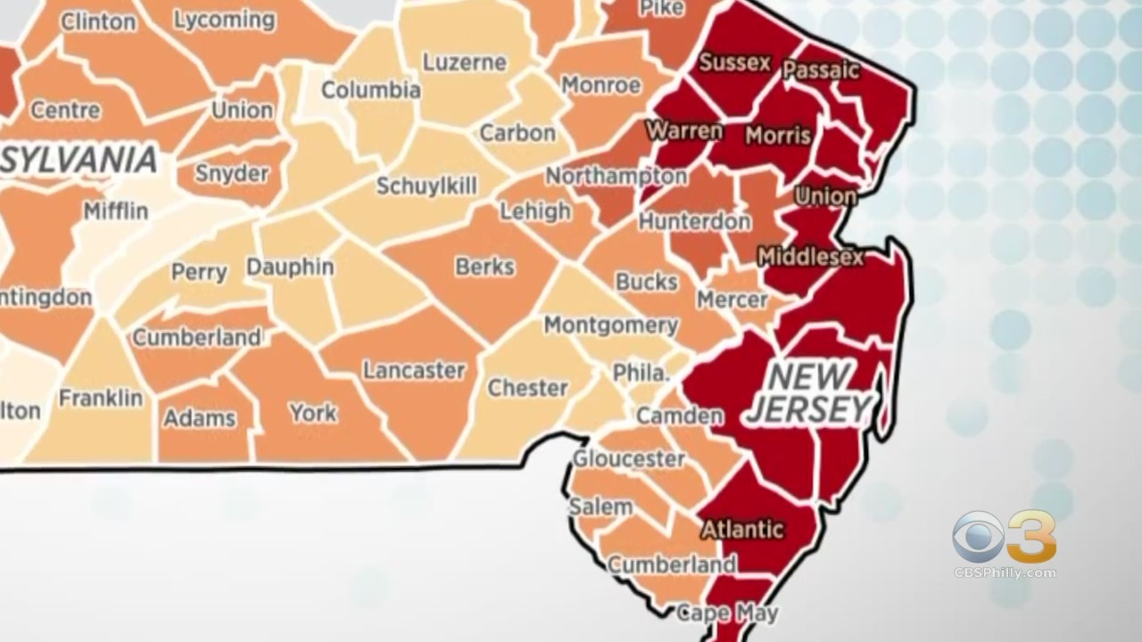 Despite Vaccination Progress New Jersey Has Highest Rate Of New Covid 19 Cases In United States Cbs Philly