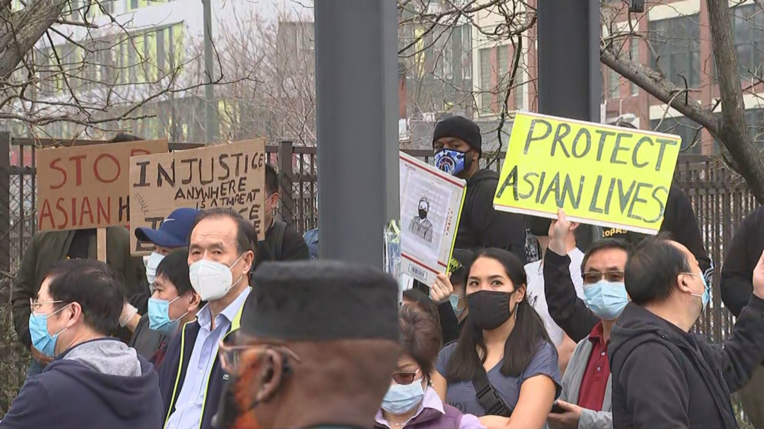 philadelphia.cbslocal.com: Several Hundred People March To Philadelphia City Hall, Urging Lawmakers To Protect Asian-Americans