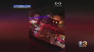 Flames Break Out In North Philadelphia Building