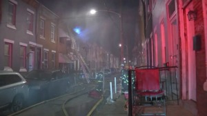 1 Injured After Flames Break Out At North Philadelphia Home